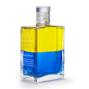 Equilibrium bottle number 8, yellow over blue