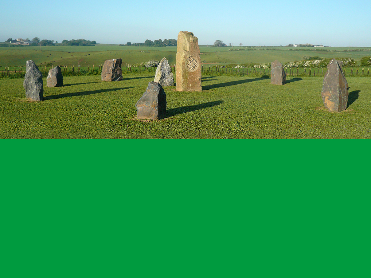5th Chakra Stone Circle on Shire Farm