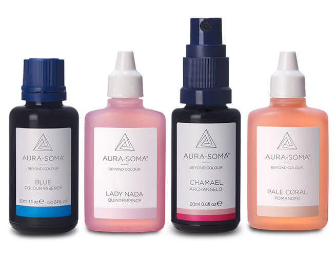 Image of Aura-Soma Colour Essence, Quintessence, Pomander and Archangeloi